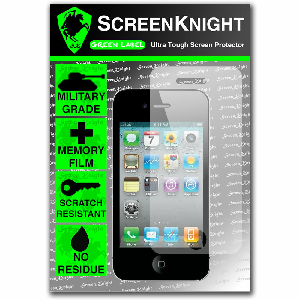 ScreenKnight Apple iPhone 4 Front Invisible Shield