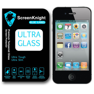ScreenKnight Apple  iPhone 4 Ultra Glass Premium Tempered Glass Screen Protector