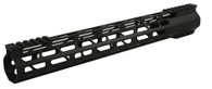 "Combat Armory 15"" Carbine Length Super Slim Light M-LOK Free Float Handguard"