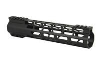 "Combat Armory 10"" Carbine Length Super Slim Light M-LOK Free Float Handguard"