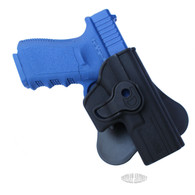 Combat Armory For Glock 17 19 22 23 26 27 31 32 34 35 360 Rotating Paddle 2 Stage Retention Holster