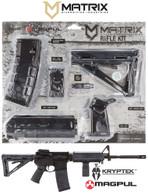 Magpul MOE Kit Poly AR-15 Kryptek Typhon mil-spec