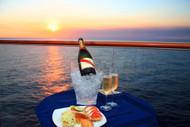 Celebrity Solstice Champagne Sunset