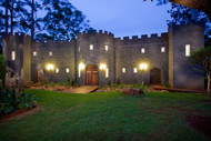 The Castle On Tamborine At Night