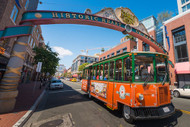 Old Town Trolley Tour And Gaslamp Quarter