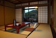 A ryokan room by day