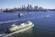 Riding The Manly Ferry