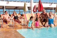 Multigenerational Family Enjoying A Cruise