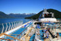 Sea Princess Docked In Haines
