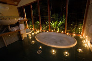 The Spa With Candles