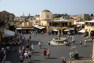Rhodes Old Town Centre