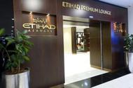 Etihad Premium Lounge Entrance