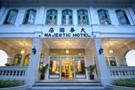 Majestic Hotel Entrance, Malacca