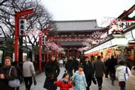 Nakamise-dori at Asakusa