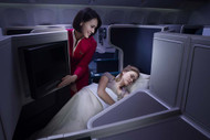 Cathay Pacific Business Class Flat Bed Seat