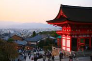 Kiyomizudera At Sunset