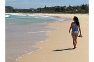 Walking The Beach At Mollymook