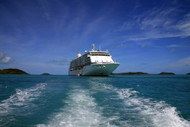Regent's Voyager At Anchor Off Thursday Island
