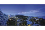 Shangri La's Rasa Sentosa Resort Singapore At Night