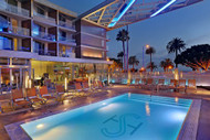 Pool Deck at Shore Hotel, Los Angeles