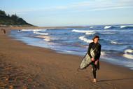 Surfer At Shelley Beach, Central Coast
