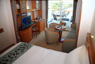 One Of The Category C Penthouse Suites on Regent Seven Seas Voyager