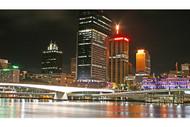 Brisbane Skyline By Night