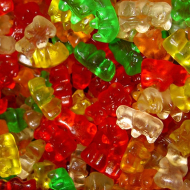 Gummy Candy Flavor water soluble a Gummi-bears type of flavor, very true to the real thing Ingredients: Artificial Flavors, Propylene glycol, Triacetin
