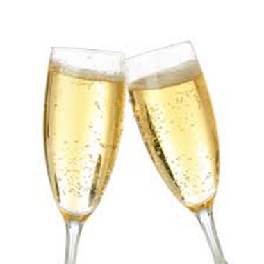 Champagne Type Flavor (PG) water soluble bright and bubbly! this is a good mixer, not a strong flavor on its own but try combining with citrus flavors  - now reformulated for no alcohol Ingredients:Artificial Flavor, Propylene Glycol