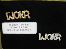 WOKR Lapel Pin - Gold