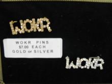 WOKR Lapel Pin - Gold