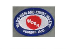 WOKR Club Logo Sew-On-Patch