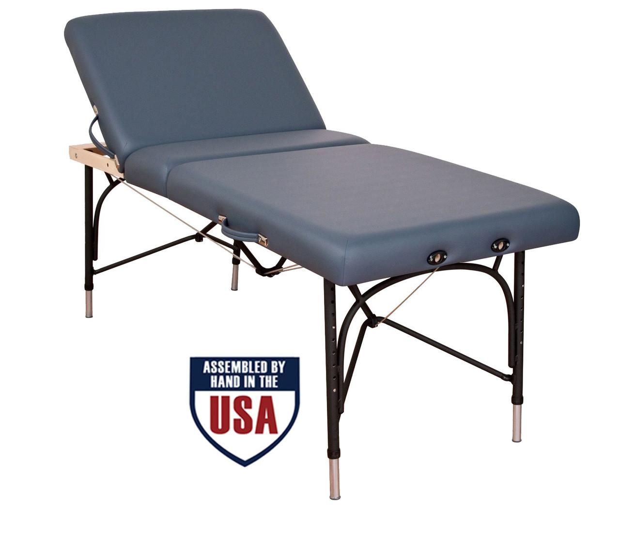 Oakworks Alliance Aluminum Massage Table Blue