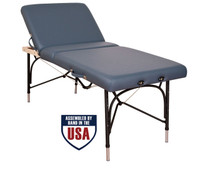 Oakworks Alliance Aluminum Massage Table Blue