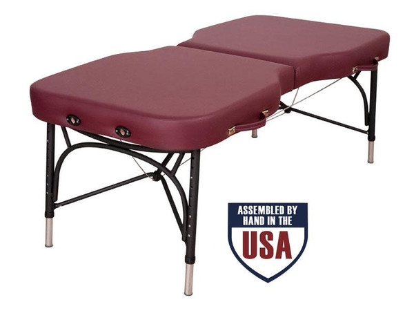 Oakworks Advanta Portable Massage Table Ruby