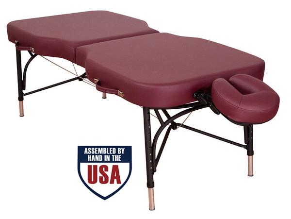 Oakworks Advanta Portable Massage Table Ruby