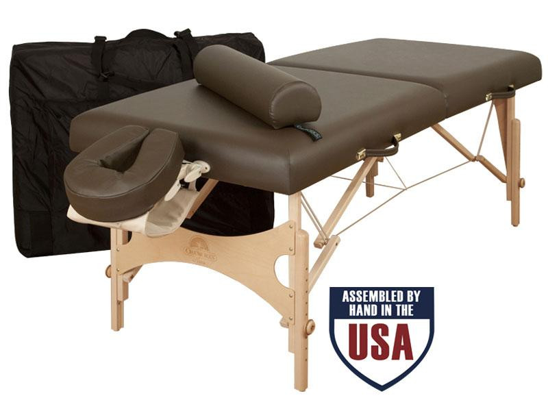 Oakworks NOVA Professional Package with Carry Case, Face Rest Platform, Face Rest Crescent, Bolster and Arm Hammock