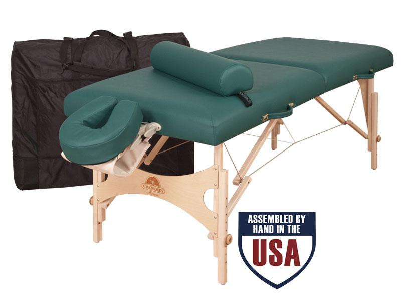 Oakworks AURORA Professional Package with Carry Case, Face Rest Platform, Face Rest Crescent and Bolster