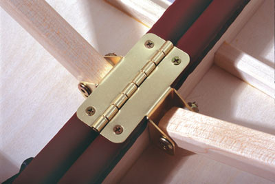 Oakworks Patented Hinge