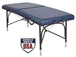 Oakworks WellSpring Portable Massage Table Sapphire