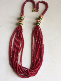 buy Pakistani Designer jewelry Red String