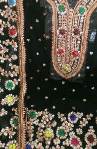 black Gota Embroidery Suits California