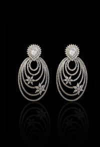 buy Pakistani Designer Jewelry Earing 003