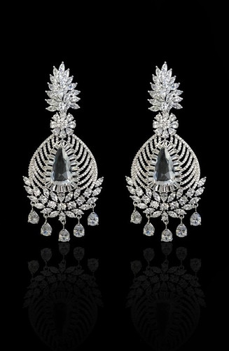 Pakistani Designer Jewelry earring 05