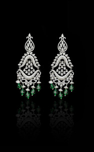 Pakistani Designer Jewelry Earring 09