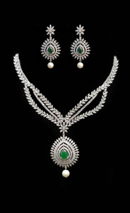 Pakistani Designer Jewelry set 041