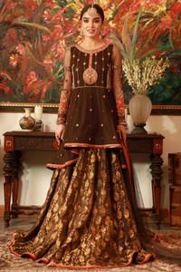 Embroidered Zaaviay Designer Formal Wear Pakistan 01