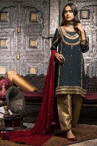 Pakistan Latest Zaaviay Designer Formal Wear Algeria 01