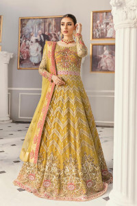 embroidered Akbar Aslam Party Wear Collection Italy 01