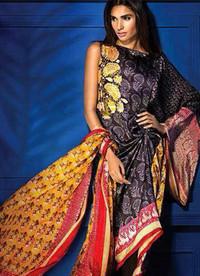 Sana Safinaz Lawn Silk Chiffon Collection Kuwait